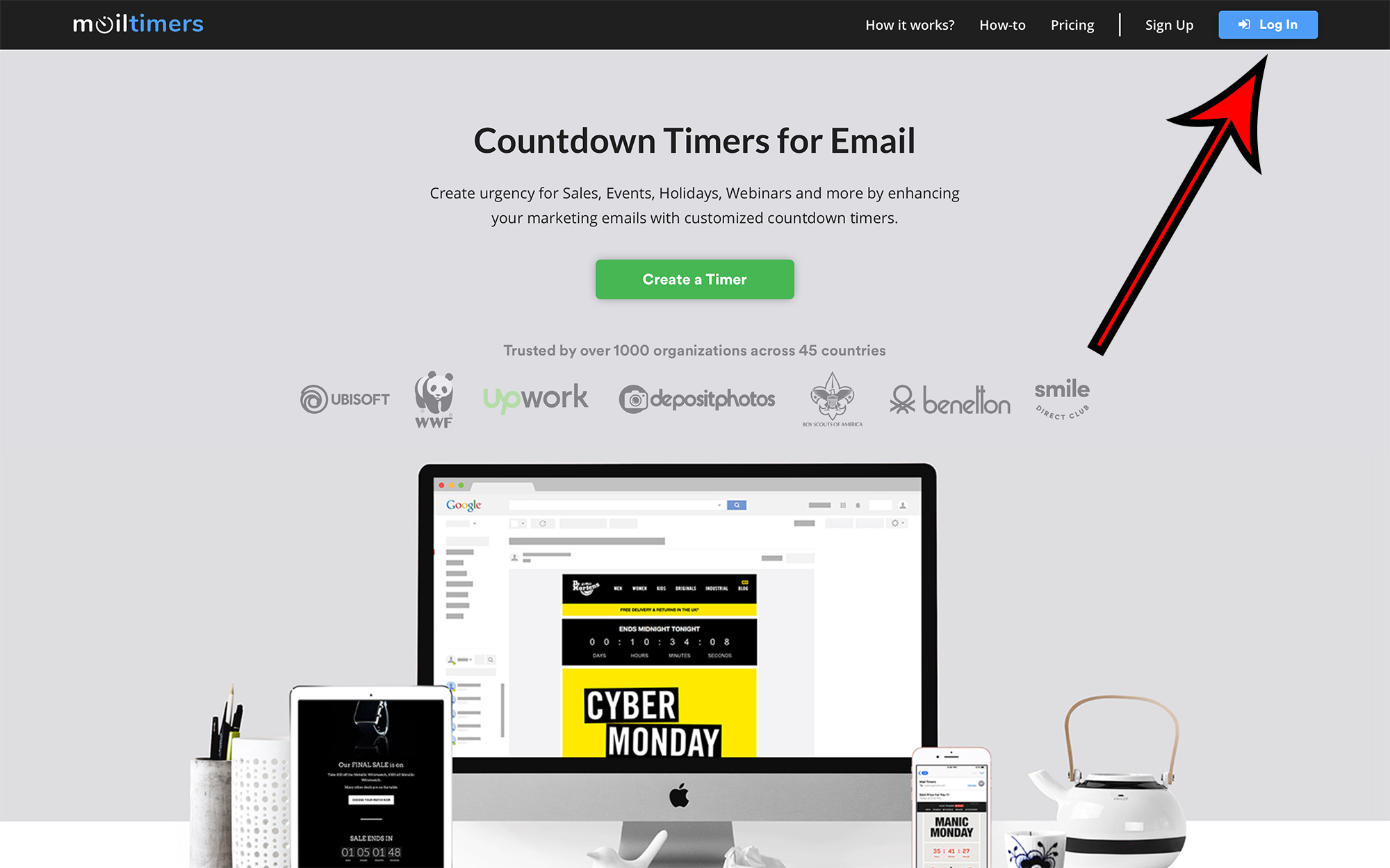 MailTimers Countdown Timer